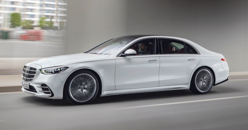 2021 Mercedes-Benz S-Class revealed – W223 to get certified Level 3 semi-autonomous driving next year Image #1170410