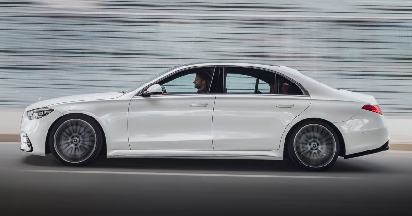 2021 Mercedes-Benz S-Class revealed – W223 to get certified Level 3 semi-autonomous driving next year Image #1170413