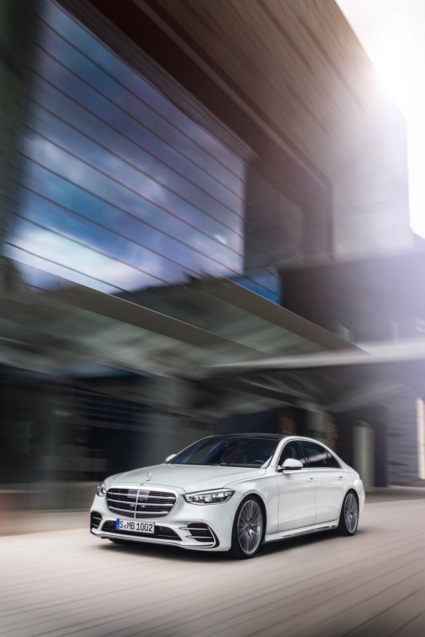 2021 Mercedes-Benz S-Class revealed – W223 to get certified Level 3 semi-autonomous driving next year Image #1170414