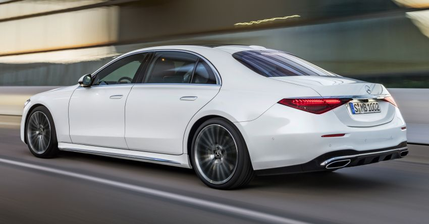2021 Mercedes-Benz S-Class revealed – W223 to get certified Level 3 semi-autonomous driving next year Image #1170420