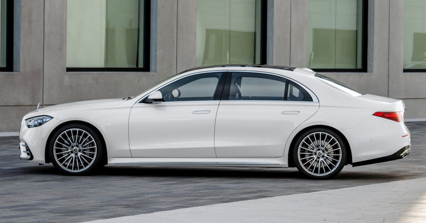 2021 Mercedes-Benz S-Class revealed – W223 to get certified Level 3 semi-autonomous driving next year Image #1170401