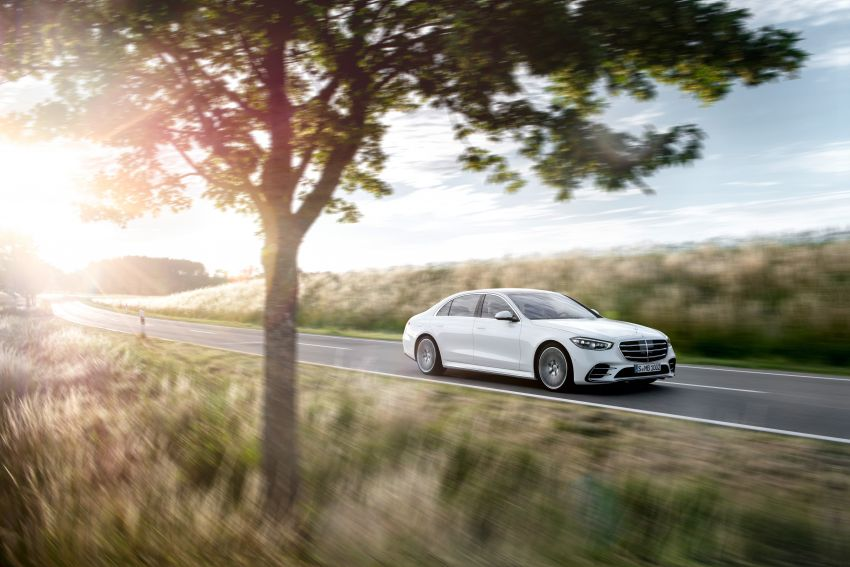 2021 Mercedes-Benz S-Class revealed – W223 to get certified Level 3 semi-autonomous driving next year Image #1170436