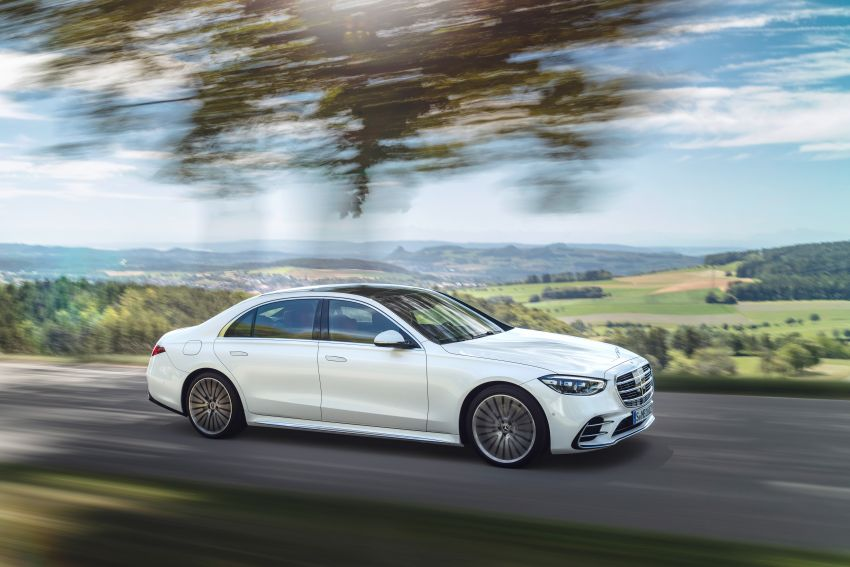 2021 Mercedes-Benz S-Class revealed – W223 to get certified Level 3 semi-autonomous driving next year Image #1170369