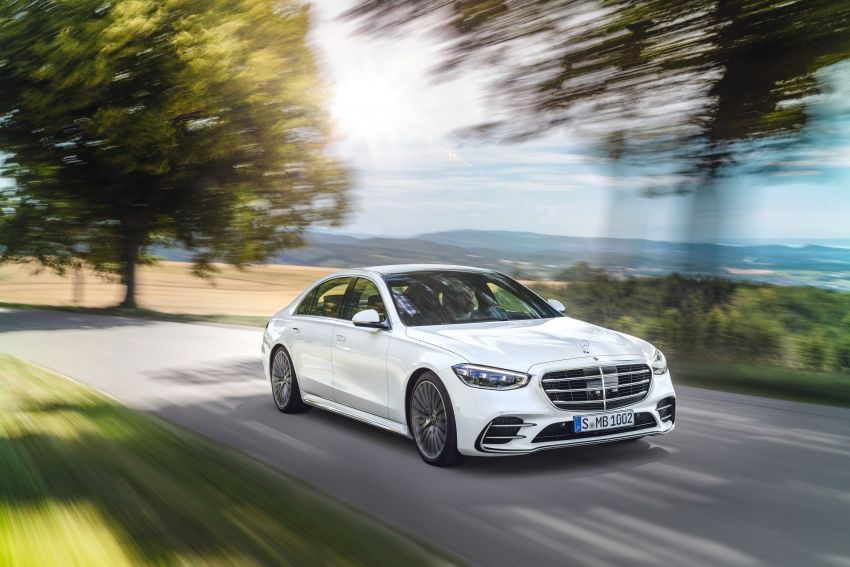 2021 Mercedes-Benz S-Class revealed – W223 to get certified Level 3 semi-autonomous driving next year Image #1170372