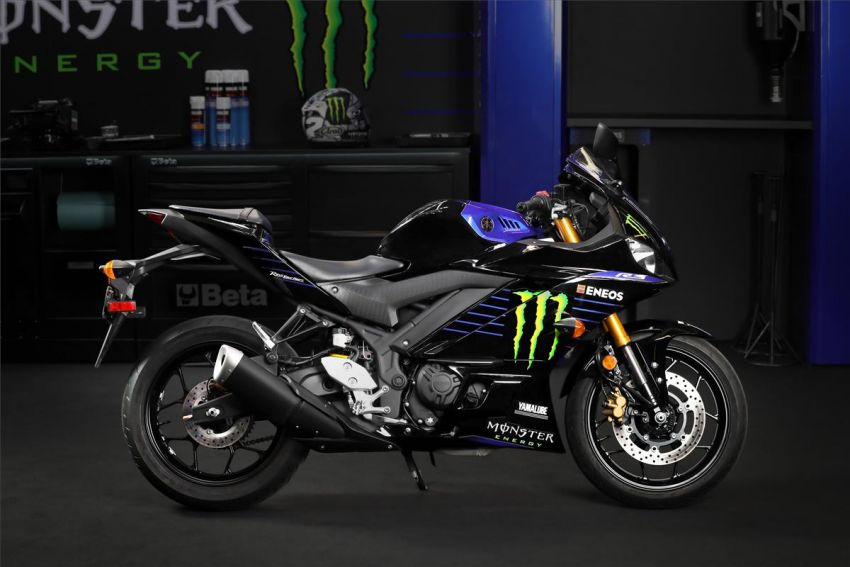 2021 Yamaha YZF-R3 in new teal and MotoGP livery Image #1174186