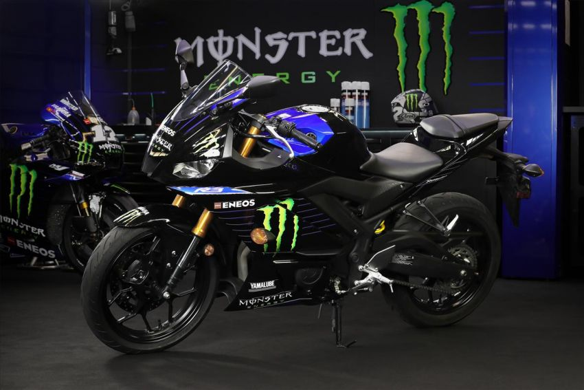 2021 Yamaha YZF-R3 in new teal and MotoGP livery Image #1174188