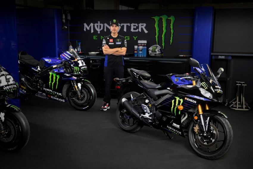 2021 Yamaha YZF-R3 in new teal and MotoGP livery Image #1174189