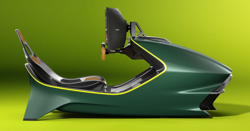 Aston Martin AMR-C01 launched – Valkyrie-inspired racing simulator; limited to 150 units; RM305,592 Image #1176940