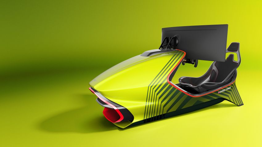 Aston Martin AMR-C01 launched – Valkyrie-inspired racing simulator; limited to 150 units; RM305,592 Image #1176952