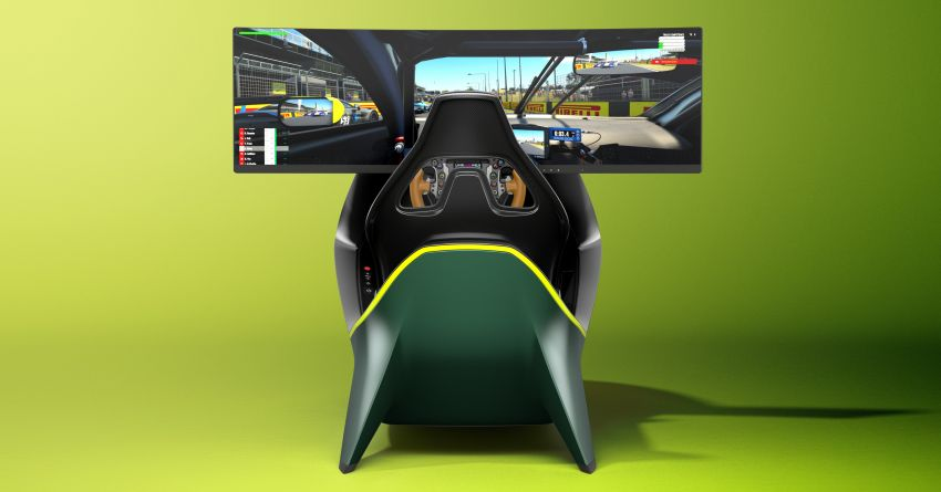 Aston Martin AMR-C01 launched – Valkyrie-inspired racing simulator; limited to 150 units; RM305,592 Image #1176943