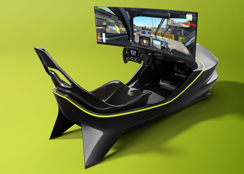 Aston Martin AMR-C01 launched – Valkyrie-inspired racing simulator; limited to 150 units; RM305,592 Image #1176944