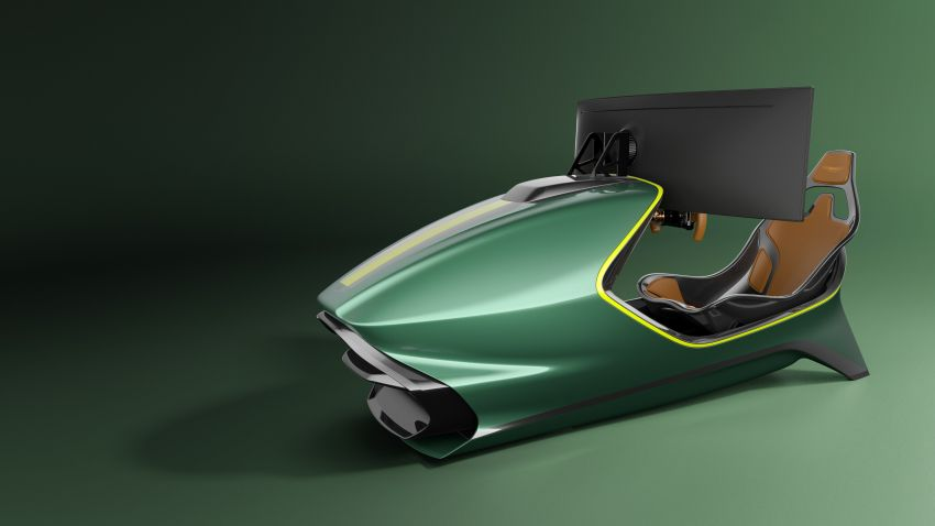 Aston Martin AMR-C01 launched – Valkyrie-inspired racing simulator; limited to 150 units; RM305,592 Image #1176946