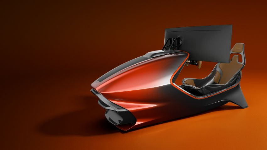 Aston Martin AMR-C01 launched – Valkyrie-inspired racing simulator; limited to 150 units; RM305,592 Image #1176948