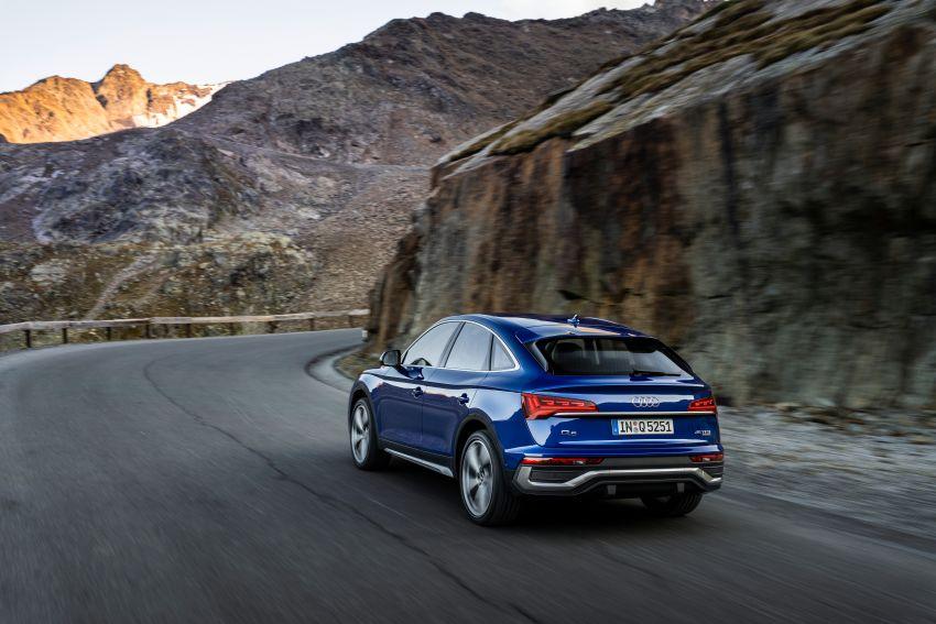 Audi Q5 Sportback – bumbung dijadikan seperti coupe Image #1184763