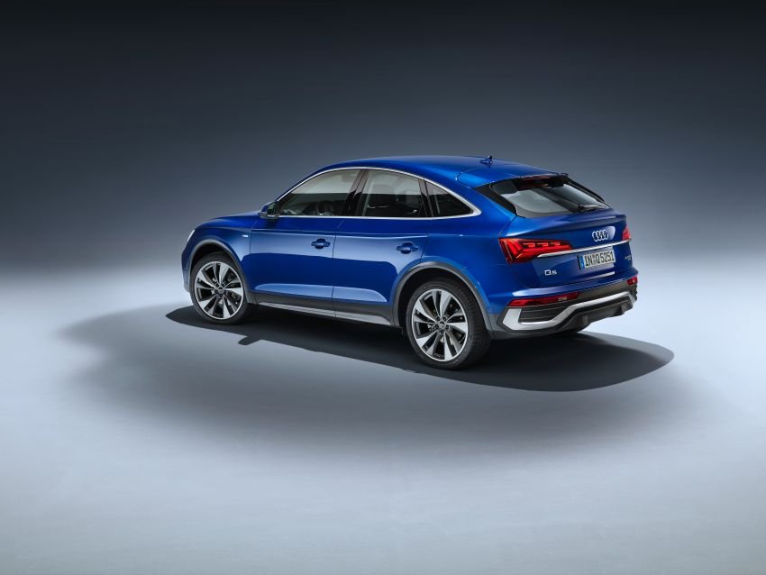 Audi Q5 Sportback – bumbung dijadikan seperti coupe Image #1184761