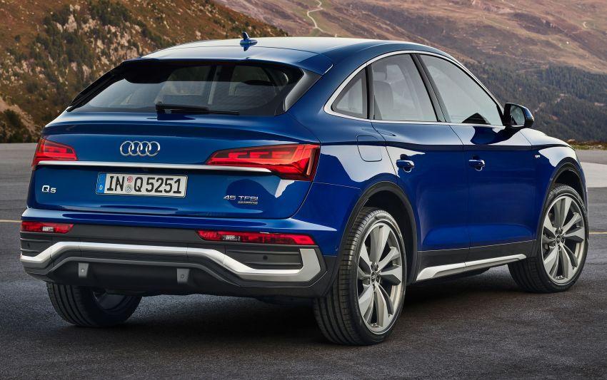 Audi Q5 Sportback – bumbung dijadikan seperti coupe Image #1184755