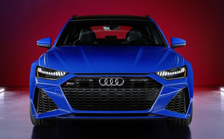 Audi RS6 Avant 'RS Tribute edition' – 25 units in Nogaro blue, a nod to the iconic 1994 RS2 Avant Image #1171003