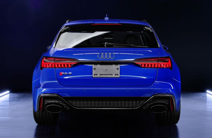 Audi RS6 Avant 'RS Tribute edition' – 25 units in Nogaro blue, a nod to the iconic 1994 RS2 Avant Image #1171004