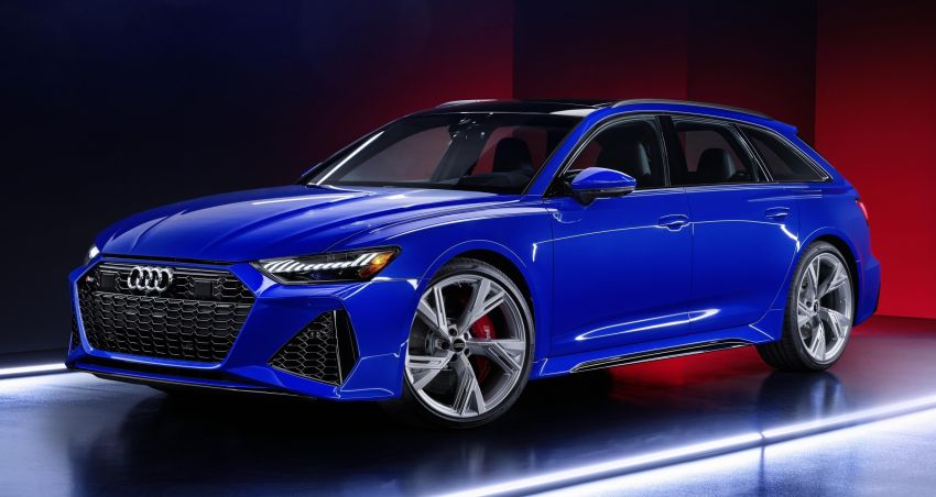 Audi RS6 Avant 'RS Tribute edition' – 25 units in Nogaro blue, a nod to the iconic 1994 RS2 Avant Image #1171005