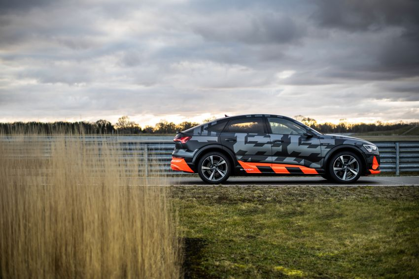 Audi e-tron S and e-tron S Sportback debut with three electric motors – 503 PS, 937 Nm; 0-100 km/h in 4.5s Image #1175631