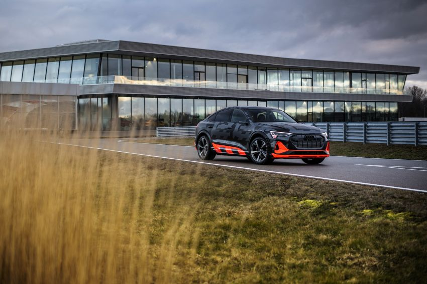 Audi e-tron S and e-tron S Sportback debut with three electric motors – 503 PS, 937 Nm; 0-100 km/h in 4.5s Image #1175632
