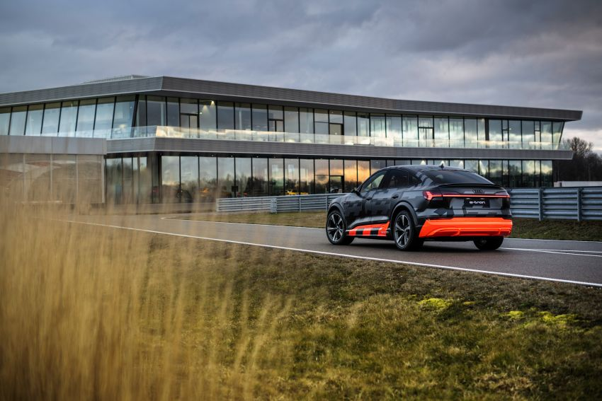Audi e-tron S and e-tron S Sportback debut with three electric motors – 503 PS, 937 Nm; 0-100 km/h in 4.5s Image #1175633