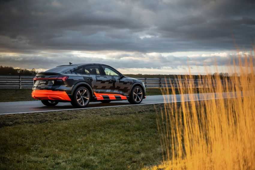 Audi e-tron S and e-tron S Sportback debut with three electric motors – 503 PS, 937 Nm; 0-100 km/h in 4.5s Image #1175636