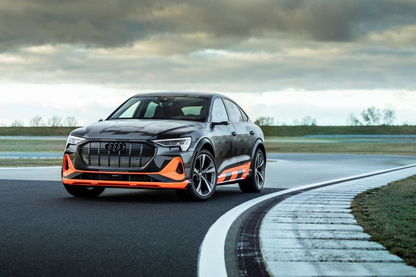 Audi e-tron S and e-tron S Sportback debut with three electric motors – 503 PS, 937 Nm; 0-100 km/h in 4.5s Image #1175637