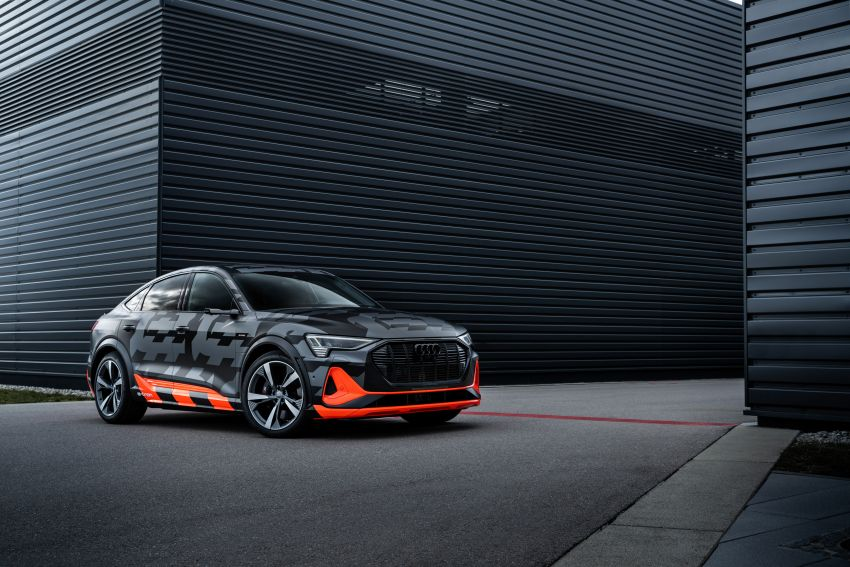 Audi e-tron S and e-tron S Sportback debut with three electric motors – 503 PS, 937 Nm; 0-100 km/h in 4.5s Image #1175638