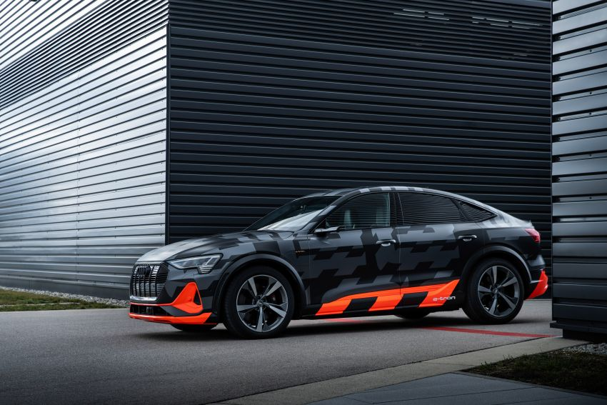 Audi e-tron S and e-tron S Sportback debut with three electric motors – 503 PS, 937 Nm; 0-100 km/h in 4.5s Image #1175639