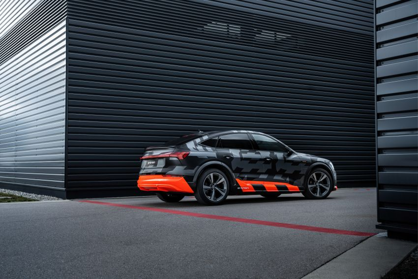 Audi e-tron S and e-tron S Sportback debut with three electric motors – 503 PS, 937 Nm; 0-100 km/h in 4.5s Image #1175640