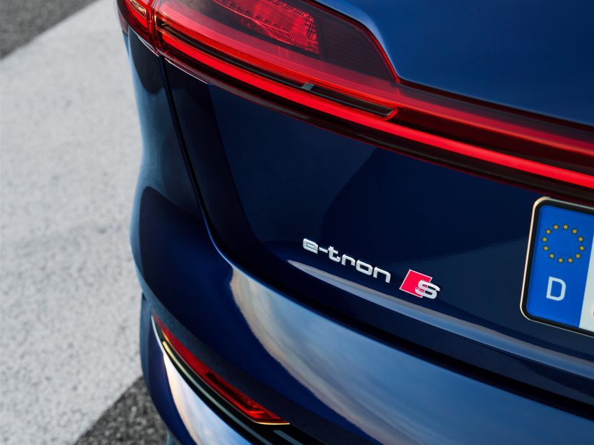 Audi e-tron S and e-tron S Sportback debut with three electric motors – 503 PS, 937 Nm; 0-100 km/h in 4.5s Image #1175542