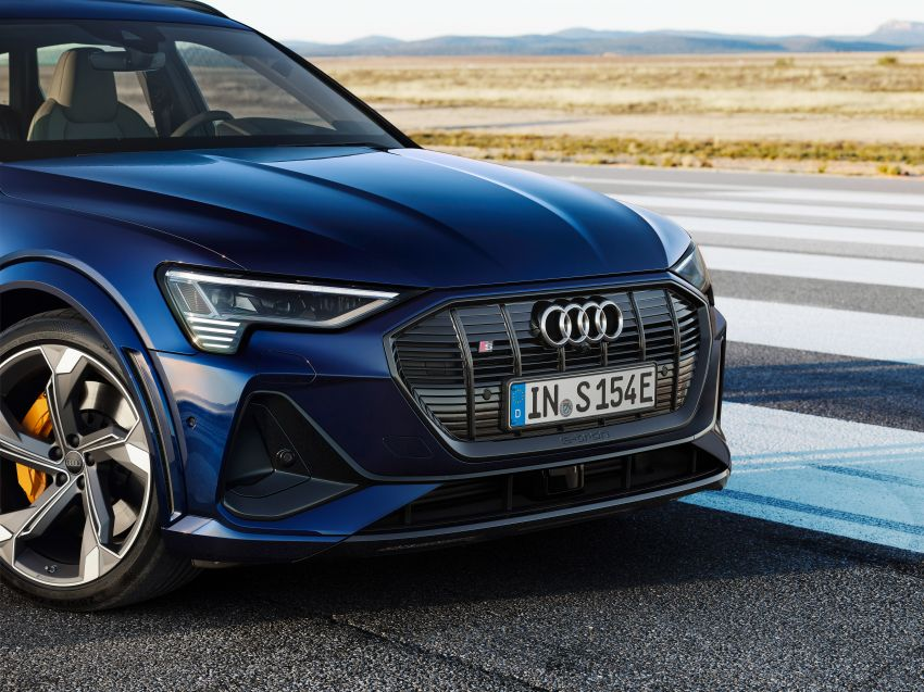 Audi e-tron S and e-tron S Sportback debut with three electric motors – 503 PS, 937 Nm; 0-100 km/h in 4.5s Image #1175544