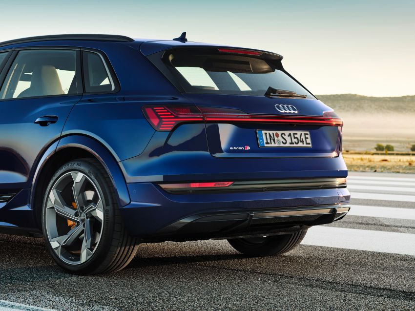 Audi e-tron S and e-tron S Sportback debut with three electric motors – 503 PS, 937 Nm; 0-100 km/h in 4.5s Image #1175545