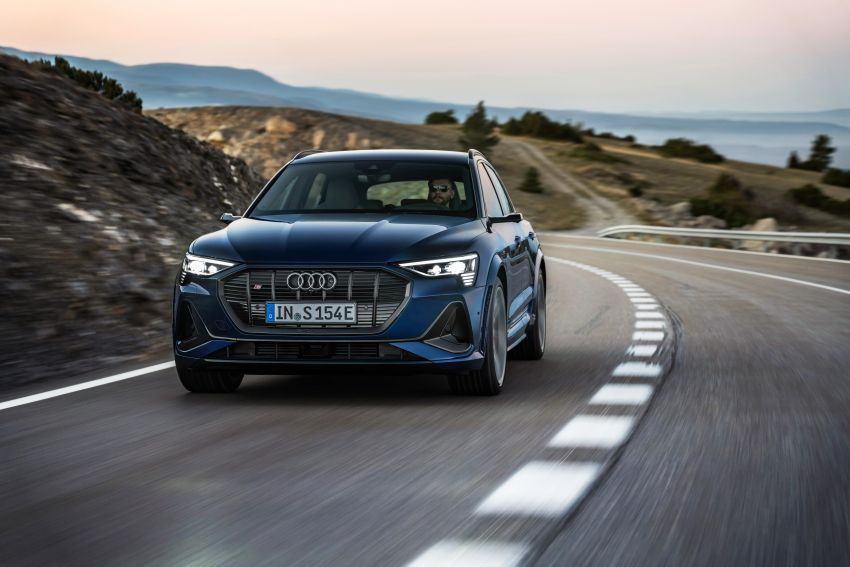 Audi e-tron S and e-tron S Sportback debut with three electric motors – 503 PS, 937 Nm; 0-100 km/h in 4.5s Image #1175547