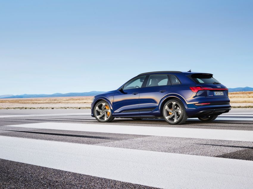 Audi e-tron S and e-tron S Sportback debut with three electric motors – 503 PS, 937 Nm; 0-100 km/h in 4.5s Image #1175530