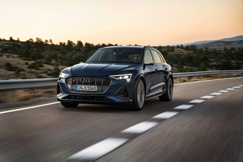 Audi e-tron S and e-tron S Sportback debut with three electric motors – 503 PS, 937 Nm; 0-100 km/h in 4.5s Image #1175548