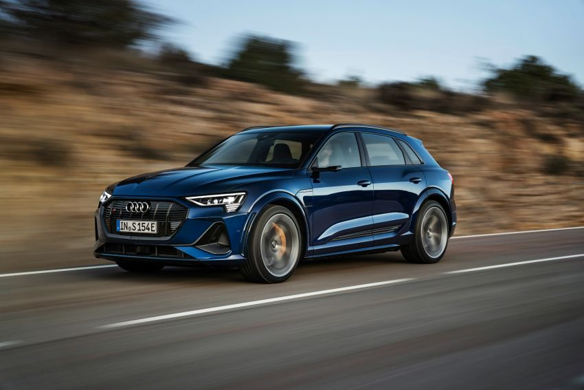 Audi e-tron S and e-tron S Sportback debut with three electric motors – 503 PS, 937 Nm; 0-100 km/h in 4.5s Image #1175549