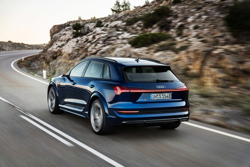 Audi e-tron S and e-tron S Sportback debut with three electric motors – 503 PS, 937 Nm; 0-100 km/h in 4.5s Image #1175550