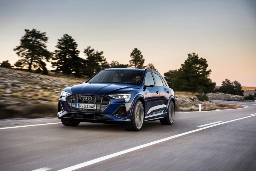 Audi e-tron S and e-tron S Sportback debut with three electric motors – 503 PS, 937 Nm; 0-100 km/h in 4.5s Image #1175551