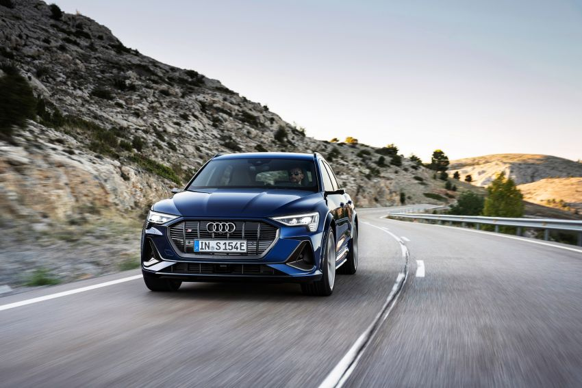Audi e-tron S and e-tron S Sportback debut with three electric motors – 503 PS, 937 Nm; 0-100 km/h in 4.5s Image #1175552