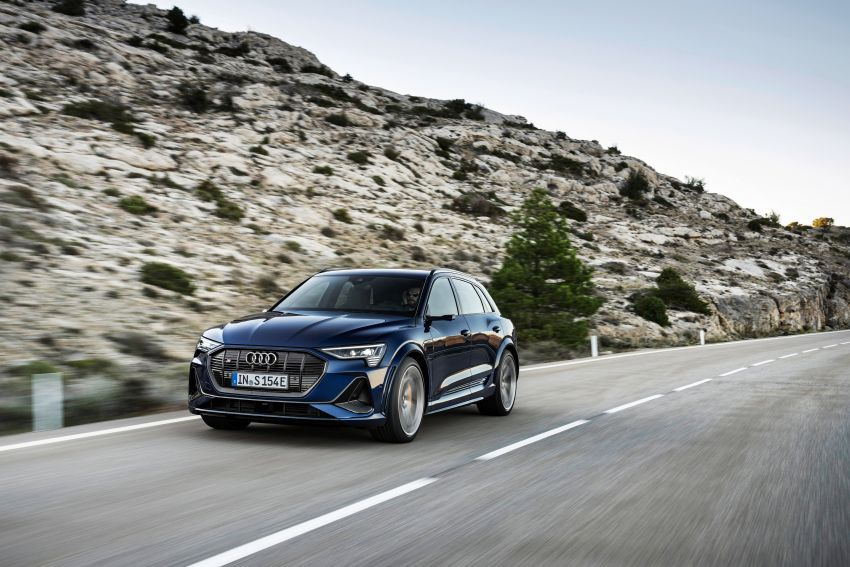 Audi e-tron S and e-tron S Sportback debut with three electric motors – 503 PS, 937 Nm; 0-100 km/h in 4.5s Image #1175553