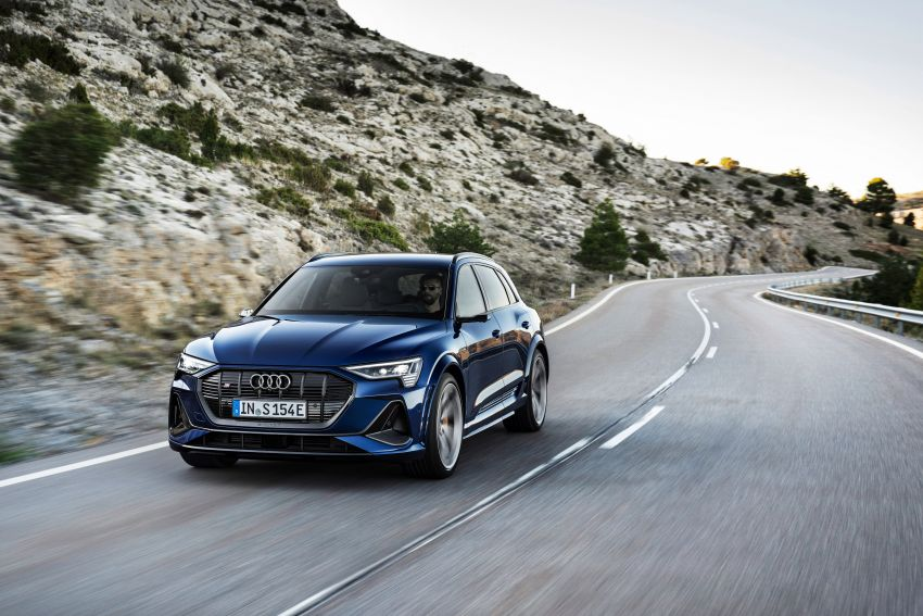 Audi e-tron S and e-tron S Sportback debut with three electric motors – 503 PS, 937 Nm; 0-100 km/h in 4.5s Image #1175554