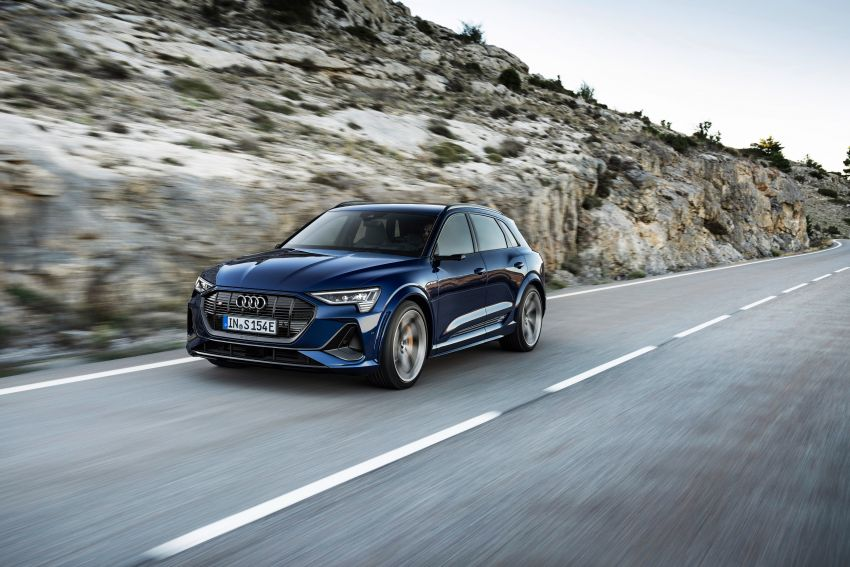 Audi e-tron S and e-tron S Sportback debut with three electric motors – 503 PS, 937 Nm; 0-100 km/h in 4.5s Image #1175555