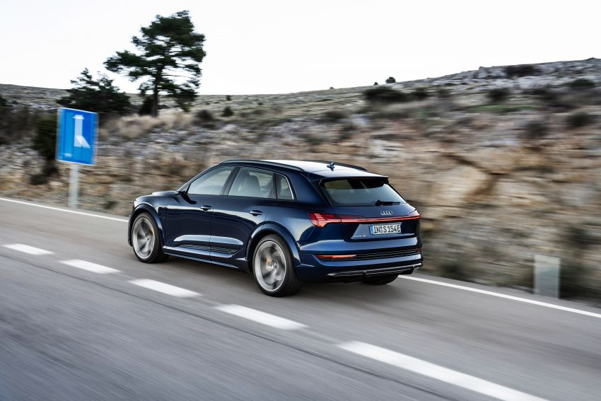 Audi e-tron S and e-tron S Sportback debut with three electric motors – 503 PS, 937 Nm; 0-100 km/h in 4.5s Image #1175556