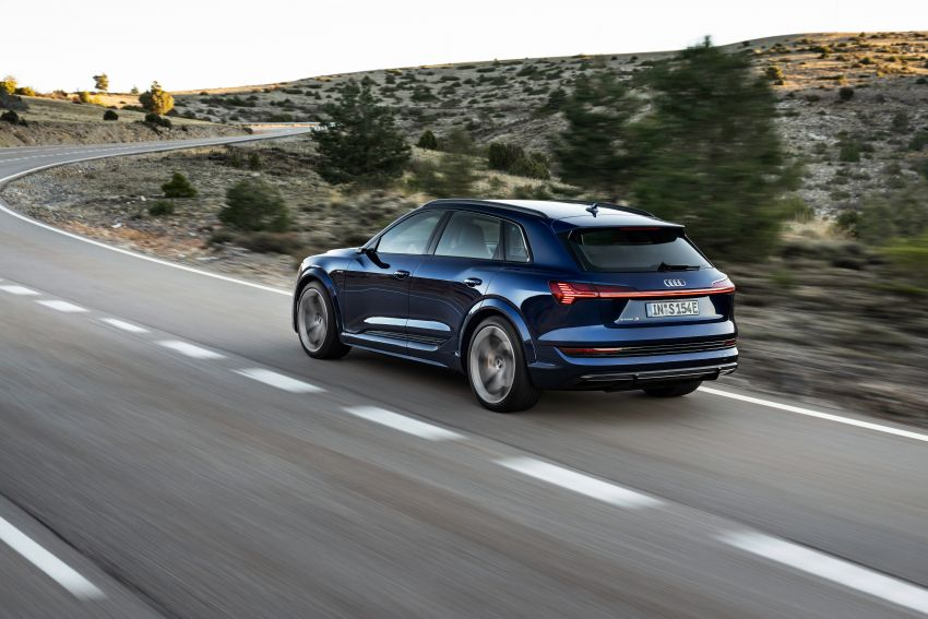 Audi e-tron S and e-tron S Sportback debut with three electric motors – 503 PS, 937 Nm; 0-100 km/h in 4.5s Image #1175557