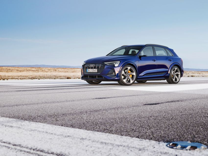 Audi e-tron S and e-tron S Sportback debut with three electric motors – 503 PS, 937 Nm; 0-100 km/h in 4.5s Image #1175531