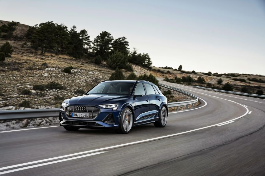 Audi e-tron S and e-tron S Sportback debut with three electric motors – 503 PS, 937 Nm; 0-100 km/h in 4.5s Image #1175562