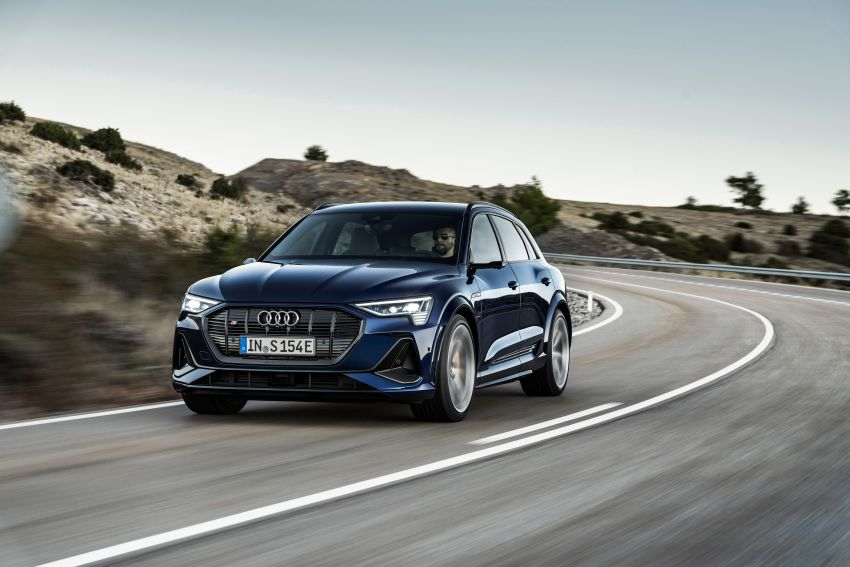 Audi e-tron S and e-tron S Sportback debut with three electric motors – 503 PS, 937 Nm; 0-100 km/h in 4.5s Image #1175563