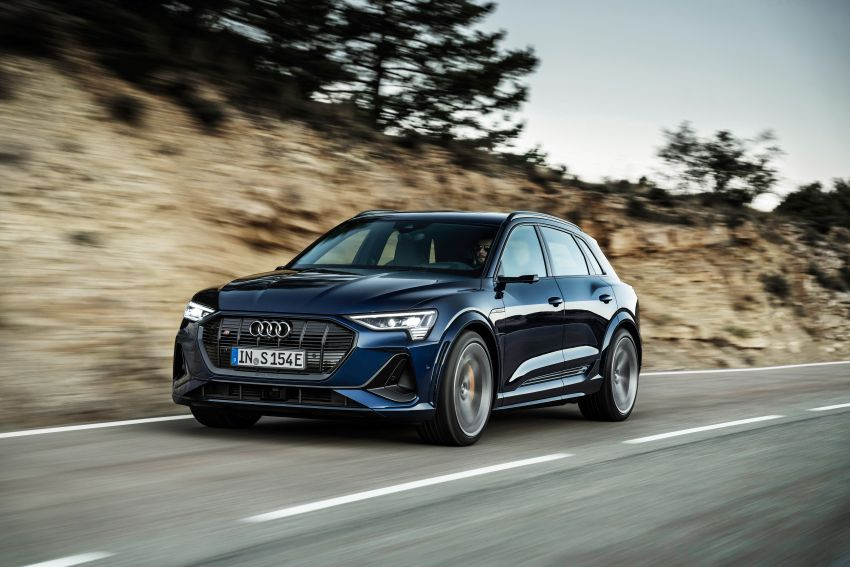 Audi e-tron S and e-tron S Sportback debut with three electric motors – 503 PS, 937 Nm; 0-100 km/h in 4.5s Image #1175564
